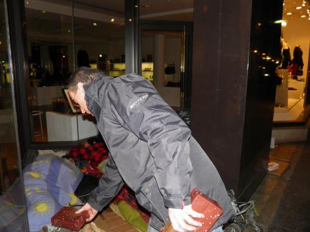 Tristan en Père Noël