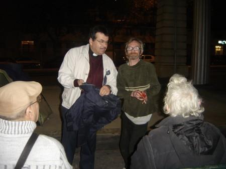 Riton et le Pasteur fraternisent !