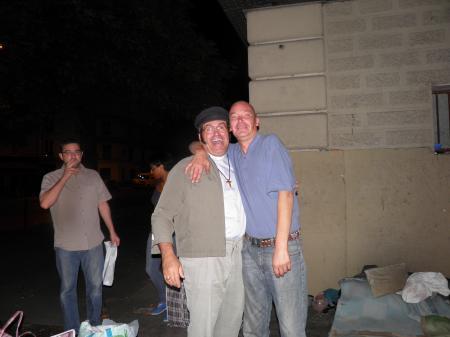 L'ami Patrick heureux de nous retrouver