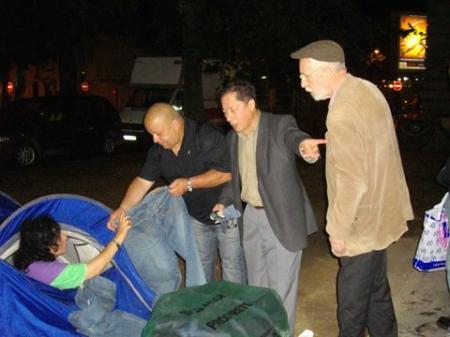 Pré-maraude et repérage, le 22 août 2008