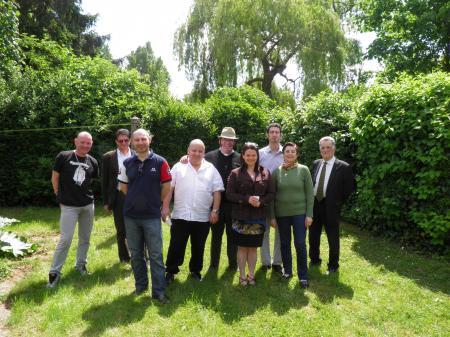 Réunion du Bureau et du CA le 12 Mai 2012